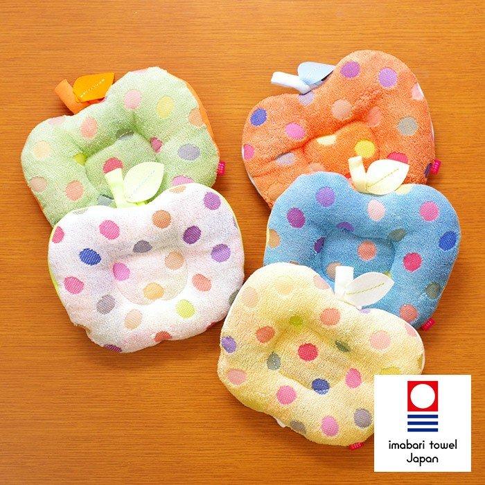 今治タオル アームピロー ポップカラー 日本製 七福タオル 人気 コットン ガーゼ お祝い お返し 女の子 男の子 男女兼用 誕生日 赤ちゃん
