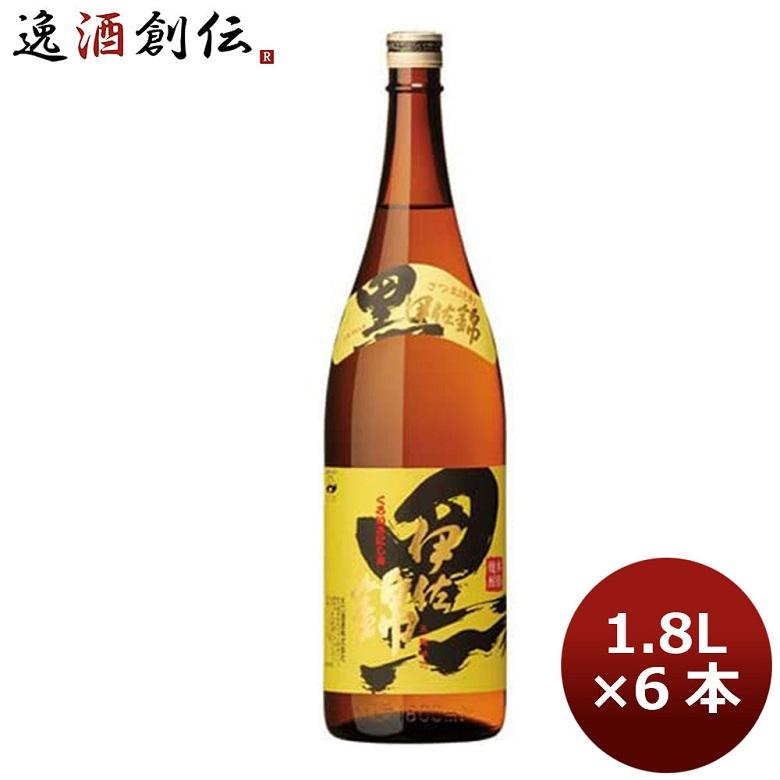 芋焼酎 25度 伊佐錦 黒(芋) 1.8L 6本 1ケース