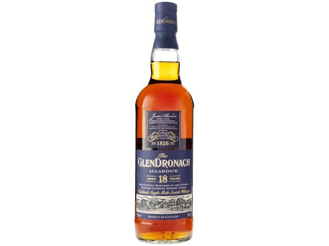 ウイスキー グレンドロナック 18年 700ml 1本