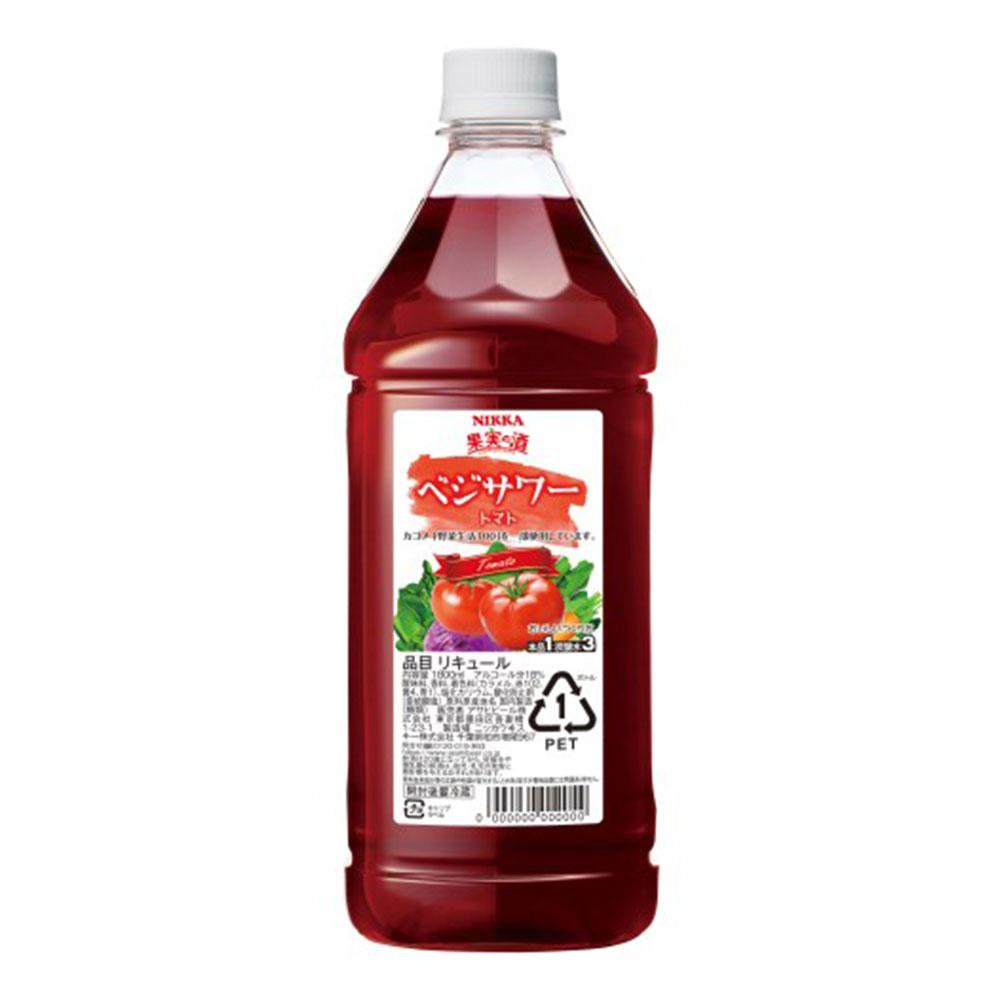 ギフト包装 のし可 お中元 リキュール 果実の酒 ベジサワー トマト アサヒ 本物 1.8L 御中元 1本 父親 プレゼント 誕生日 海外限定 ギフト 1800ml