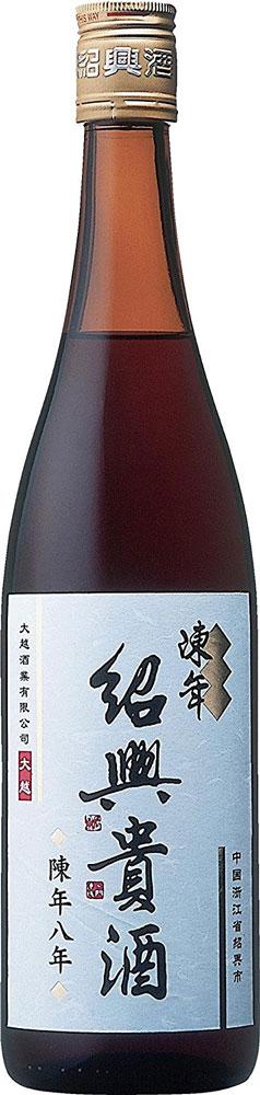 紹興酒 陳年紹興貴酒 8年 永昌源 640ml 1本
