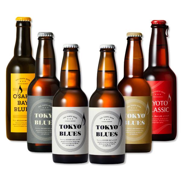 クラフトビール メイルオーダー 地ビール 黄桜 ビール ギフト 大人気 送料無料 飲み比べセット 父親 誕生日 プレゼント 飲み比べ 6本セット この街を奏でる音楽のようなビール