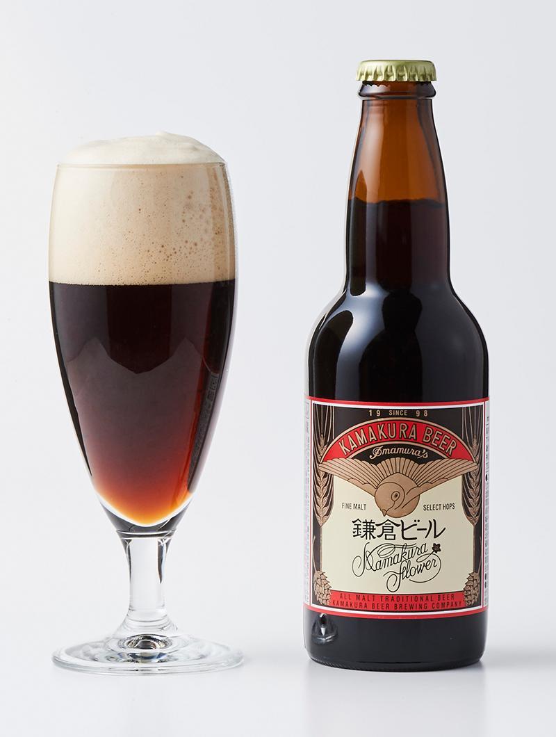 鎌倉ビール 花 330ml 20本 ブラウンエール 1ケース 神奈川県