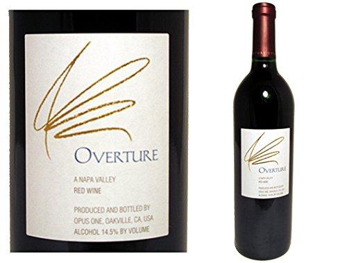 オーバーチュア 750ml×1本 Opus One Overture N.V. オーパスワン セカンドワイン クール便指定は通常送料に+324円
