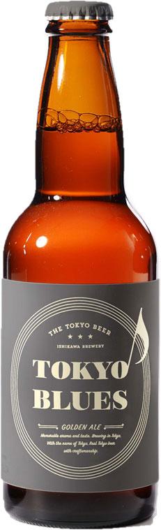 東京ブルース ゴールデンエール 330ml×24本 (1ケース)/ TOKYO BLUES Golden Ale