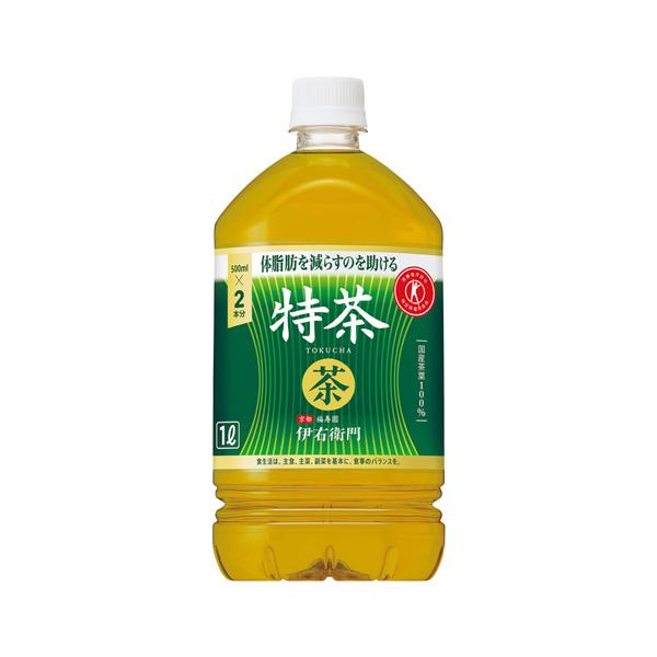 飲料水 サントリーフーズ 伊右衛門 特茶 1000ml 1L×12本 登場大人気アイテム 本州送料無料 サントリー伊右衛門 格安 価格でご提供いたします ギフト包装 のし各種対応不可商品です 緑茶