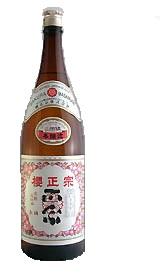 6本単位まとめ買いで送料無料※一部地域を除く 日本酒 本醸造 櫻正宗 櫻正宗 朱稀 1800ml 1.8L 1本 ギフト 父親 誕生日 プレゼント
