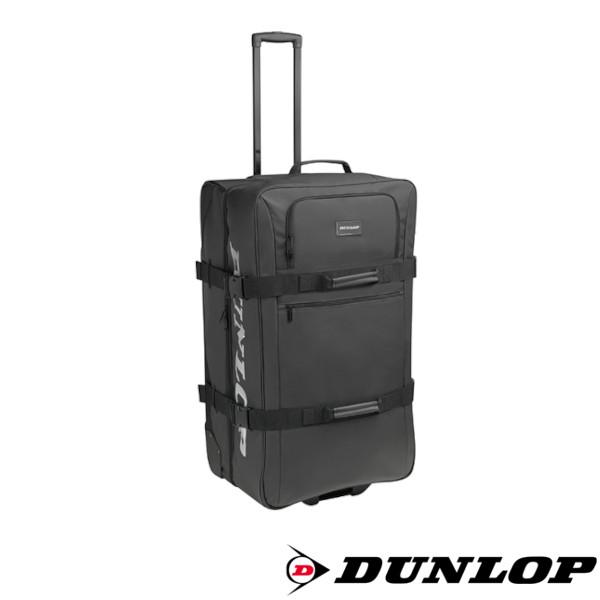 ダンロップ バッグ 《送料無料》2021年1月発売 商品追加値下げ在庫復活 DUNLOP DTC-2110 キャスターバッグ ラケット収納可 今季も再入荷