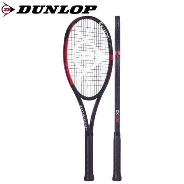 《ポイント15倍》《送料無料》2018年12月初旬発売 DUNLOP CX 200  DS21902  ダンロップ 硬式テニスラケット