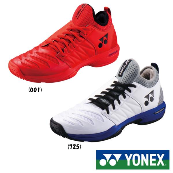 《送料無料》2018年9月下旬発売 YONEX パワークッション フュージョンレブ3 メン GC SHTF3MGC ヨネックス テニスシューズ クレー/砂入り人工芝用