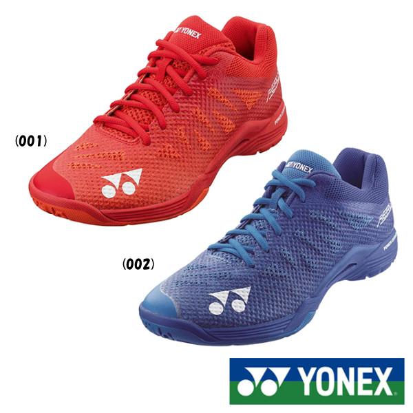 《5%OFFクーポン対象》《送料無料》《新色》2019年8月下旬発売 YONEX パワークッションエアラス3 メン SHBA3M ヨネックス バドミントンシューズ