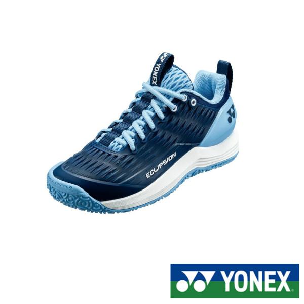 《5%OFFクーポン対象》《送料無料》2020年3月下旬発売 YONEX パワークッションエクリプション3ウィメンGC SHTE3LGC ヨネックス テニスシューズ クレー・砂入り人工芝コート用