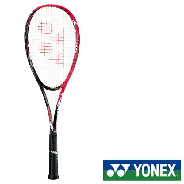 《決算クーポン対象》《ガット無料》《工賃無料》《送料無料》《新色》2018年6月下旬発売 YONEX ナノフォース8Vレブ NF8VR ヨネックス ソフトテニスラケット