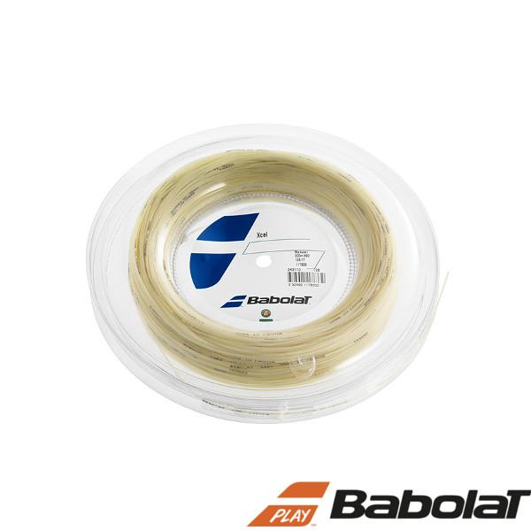 《送料無料》BabolaT エクセル 125/130/ BA243110R  ロールタイプ バボラ 硬式テニスストリング