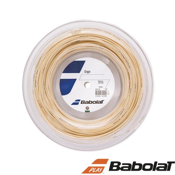 《送料無料》BabolaT オリジン 125/130 BA243126R ロールタイプ バボラ 硬式テニスストリング