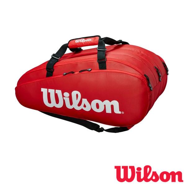 《送料無料》2019年1月発売 WILSON TOUR 3 COMP RED ツアー3 WRZ847915 ウィルソン バッグ