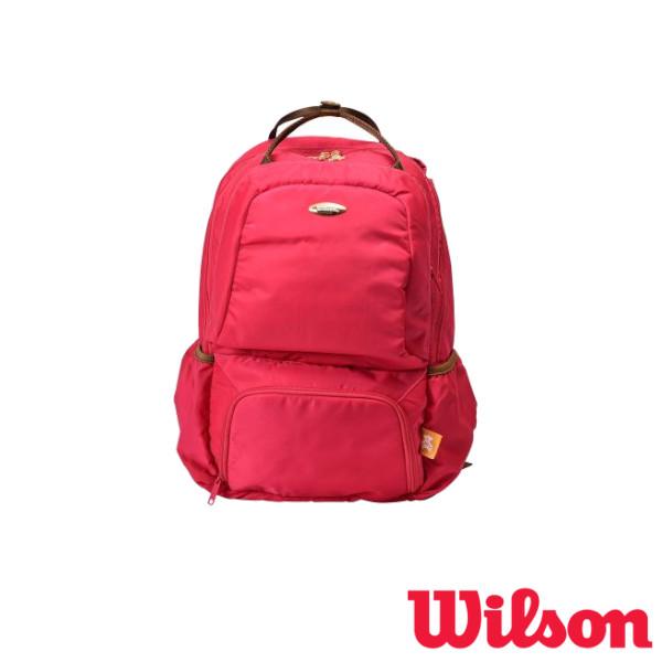 《送料無料》2019年4月発売 WILSON テニスバッグ W BEAR BACKPACK 13POCKETS PINK WR8001903001 ウィルソン バッグ