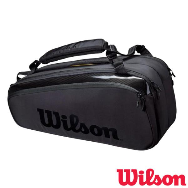 ウィルソン バッグ 《送料無料》2021年3月発売 Wilson 5☆好評 即納送料無料! テニスバッグ WR8010601001 TOUR SUPER 9PK