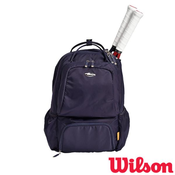ウィルソン バッグ 《送料無料》2021年6月発売 Wilson 激安通販 テニスバッグ 売れ筋ランキング W NAVY POCKETS 13 WR8015102001 BACKPACK BEAR