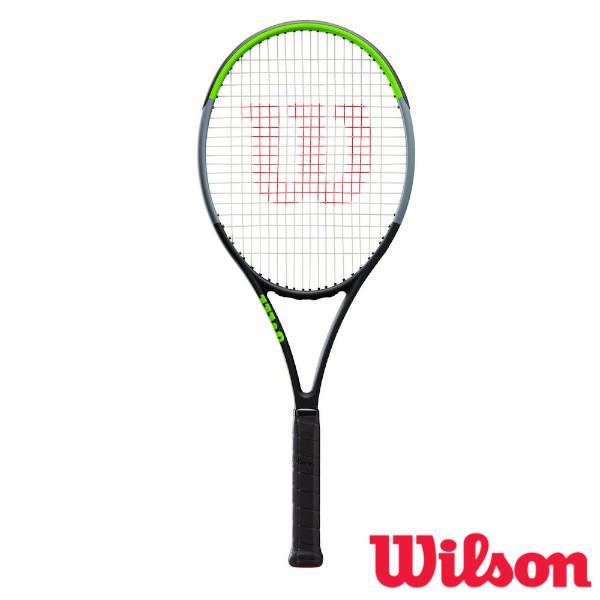 《ポイント15倍》《送料無料》2019年9月発売 Wilson BLADE 104 SW CV V7.0 WR014211S ウィルソン 硬式テニスラケット