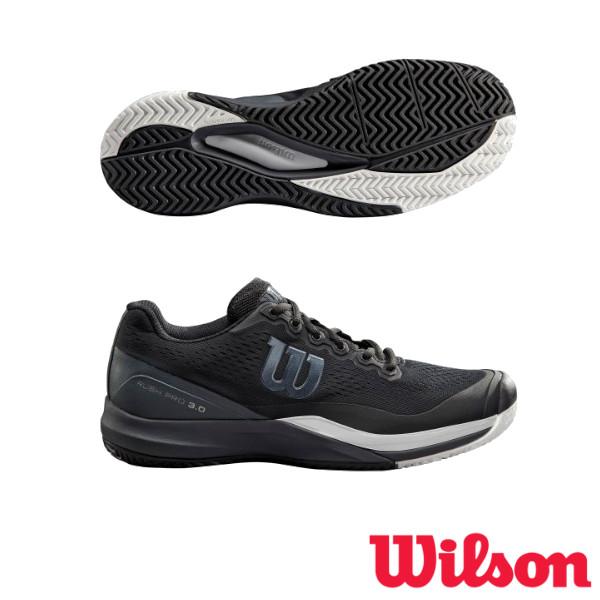 《送料無料》2019年2月発売 WILSON RUSH PRO 3.0 AC メンズ ラッシュ・プロ WRS325530U ウィルソン テニスシューズ オールコート用