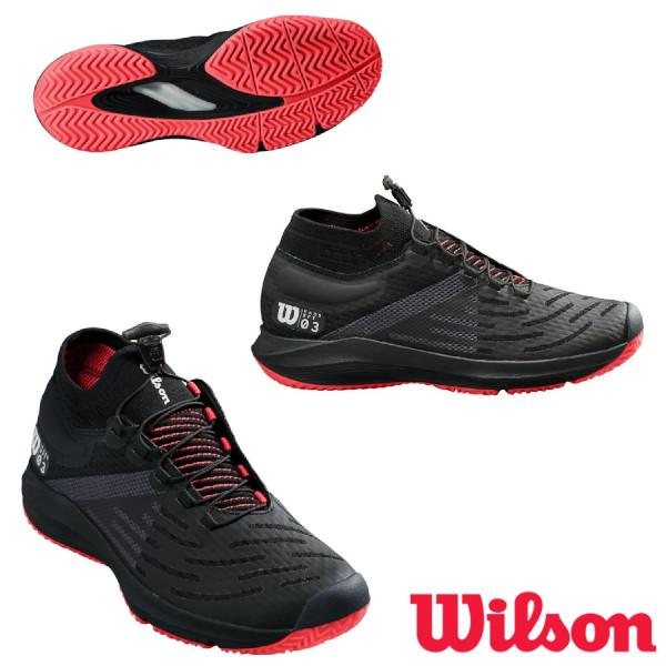 《10%OFFクーポン対象》《送料無料》2020年2月発売 WILSON KAOS 3.0 SFT AC  レディース ケイオス WRS326590U ウィルソン テニスシューズ オールコート用