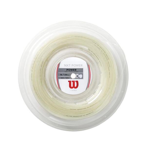 《送料無料》NXT POWER 16 WRZ9127600 Reel ウィルソン WRZ9127600 硬式テニス ウィルソン 硬式テニス ストリング ロールガット, LEVEL6:75d2cad8 --- officewill.xsrv.jp