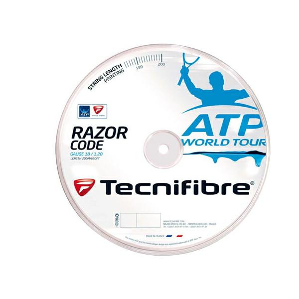 《送料無料》Tecnifibre RAZOR CODE 1.30mm TFR515 テクニファイバー 硬式テニス ストリング