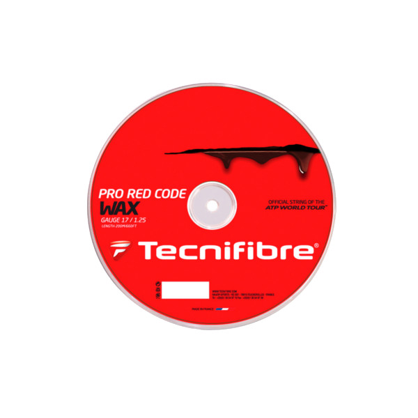 《送料無料》Tecnifibre ロールガット PRO RED RED CODE WAX 1.30mm TFR522 テクニファイバー WAX 硬式テニス ストリング ロールガット, からあげでんせつ:744fe2aa --- officewill.xsrv.jp