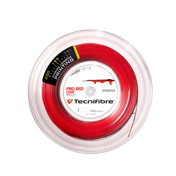 《送料無料》Tecnifibre PRO RED CODE 1.30mm TFR502 テクニファイバー 硬式テニス ストリング ロールガット