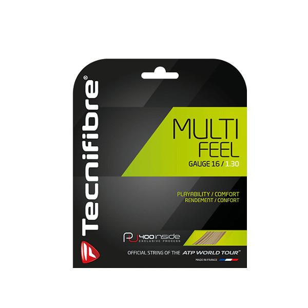 《送料無料》Tecnifibre MULTI  FEEL 1.35mm TFR922 テクニファイバー 硬式テニス ストリング ロールガット