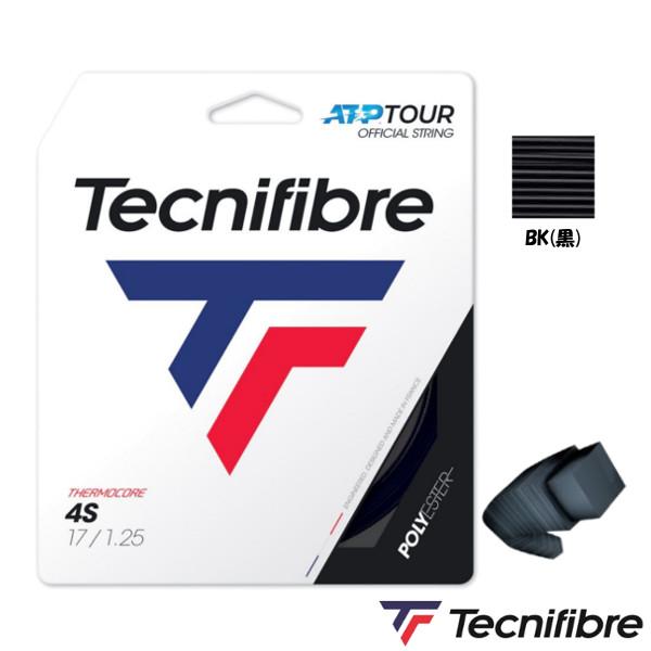 《5%OFFクーポン対象》《送料無料》Tecnifibre 4S 1.25mm TFR406 テクニファイバー 硬式テニス ストリング ロールガット