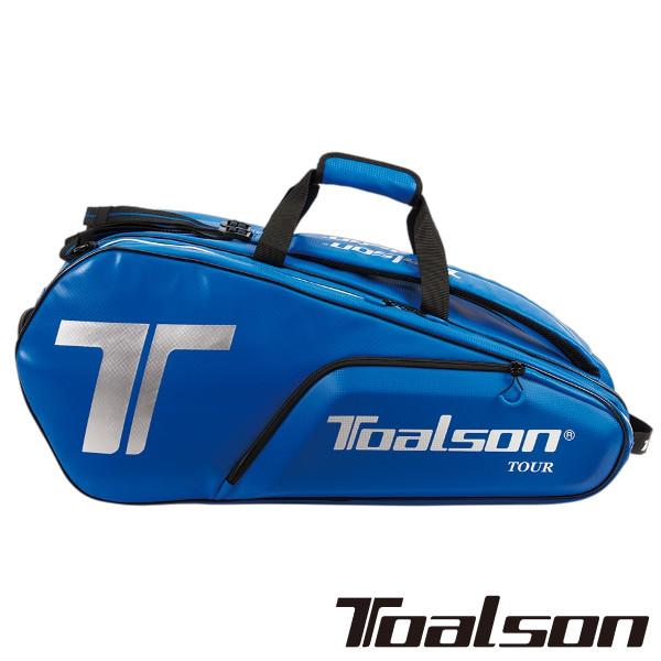 《送料無料》2019年発売 TOALSON ツアーバック(ラケット10本収納可) 1FT1801B トアルソン バッグ