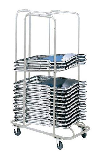 サンケイ商品専用 E-10 折りたたみ椅子収納台車 2段積み上げタイプ