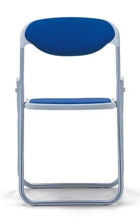 折りたたみ椅子 SF510-MY パイプ椅子 アルミ脚 粉体塗装 布張り