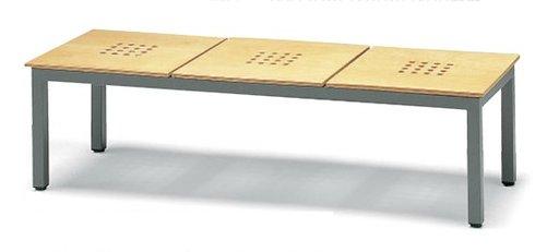 価格は安く 長椅子 CL373-MW CL373-MW 待合イス 幅146cm 背なし 幅146cm 木製座面 ロビーチェア 待合イス, MSP NET SHOP:b5c4eb4e --- konecti.dominiotemporario.com