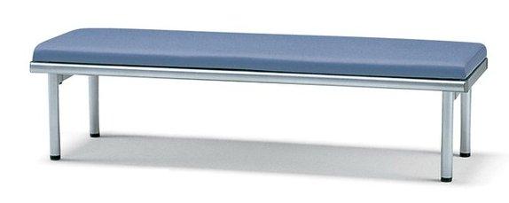サンケイ 長椅子 CL46-MX 幅150cm 背なし ビニールレザー張り