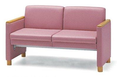 長椅子 CL504-ZX 幅122cm 背付 ビニールレザー張り ロビーチェア 待合イス