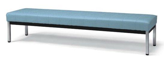 長椅子 CL86-CX 幅180cm 背なし ビニールレザー張り ロビーチェア 待合イス