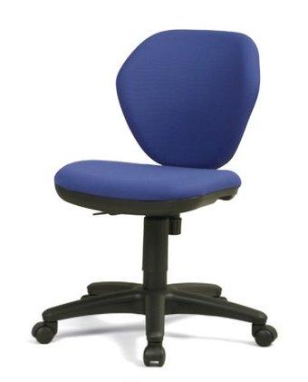 CO210-MYB_X1 オフィスチェア 回転椅子 ガススプリング上下調節 キャスター付 肘なし 布張り