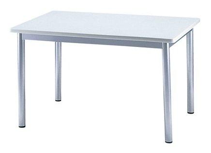 TM1275AD-MZ 長方形:幅120×奥行75×高さ70cm ミーティングテーブル 会議テーブル 4本脚 粉体塗装脚