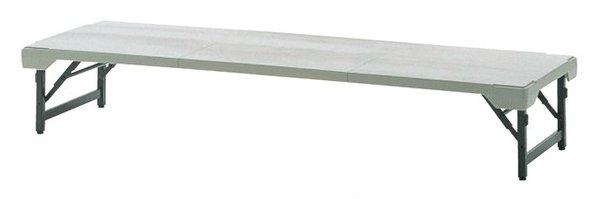 TM142-MZ 長方形:幅180×奥行62×高さ33cm 折りたたみテーブル 座卓 粉体塗装