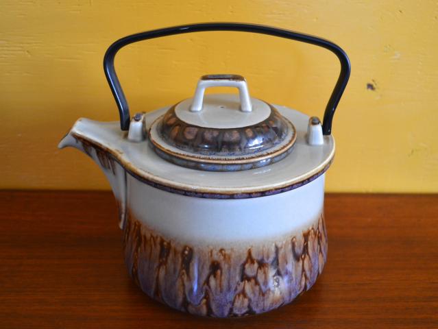 【中古】【ヴィンテージ陶器】ビング&グロンデール ポット -B&G Mexico