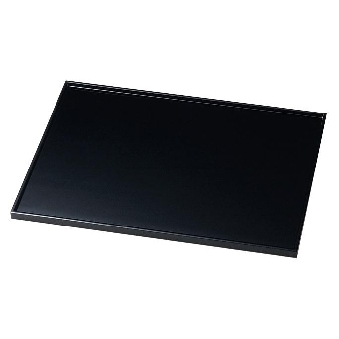 長角膳 13.0 黒 木製 漆塗り ランチョンマット・折敷