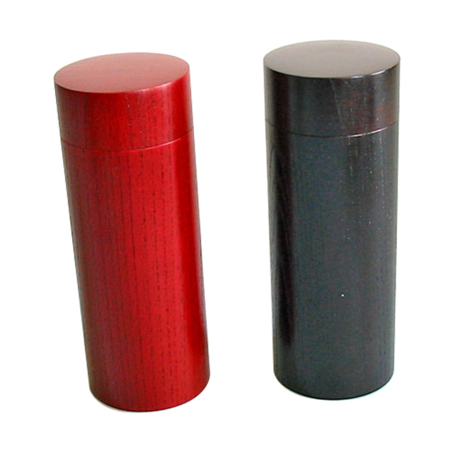 スリム茶筒 【送料無料】【京都 漆器の井助】