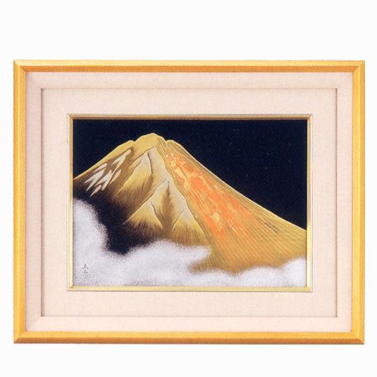 パネル 金富士 【送料無料】【京都 漆器の井助】