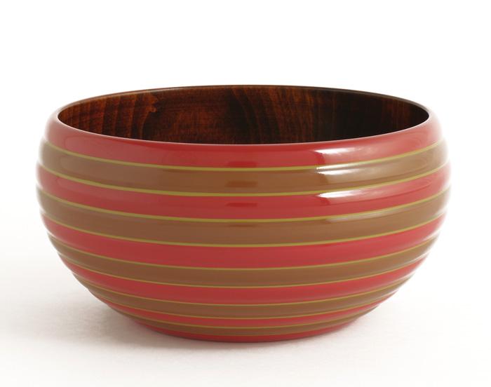 KOMAボウル|木製漆塗りの鉢 菓子鉢やサラダボウルに。 isukeブランド 和食器 漆器