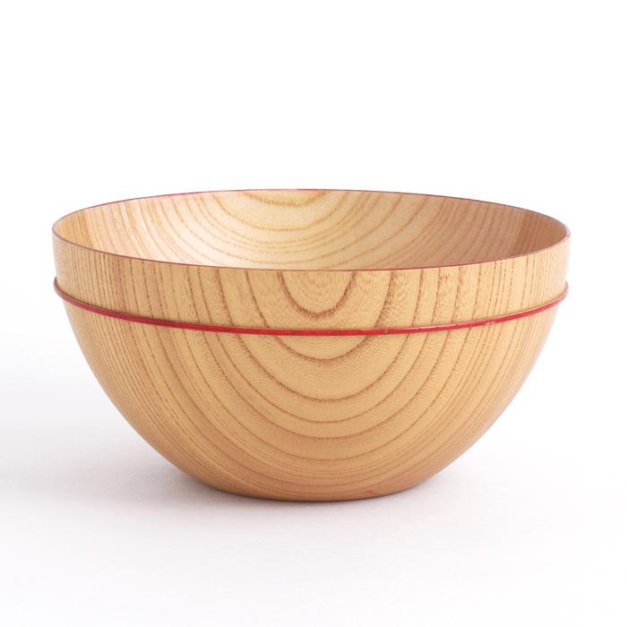 MOKU ボウル D 積み重ね可能な木製の鉢(スタッキングボール)麺鉢やサラダボウルに。 isukeブランド 和食器 漆器