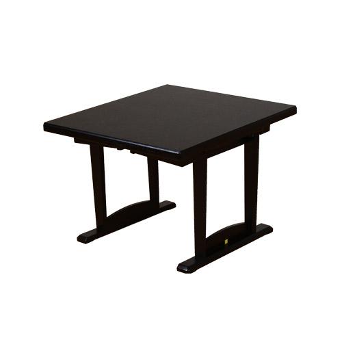 和座 座卓兼用テーブル-80cm×90cm- 机 和風テーブル 和室テーブル 和風ダイニング 畳に優しい 座卓 一台二役 座敷 旅館 宴会場 組立て 送料無料