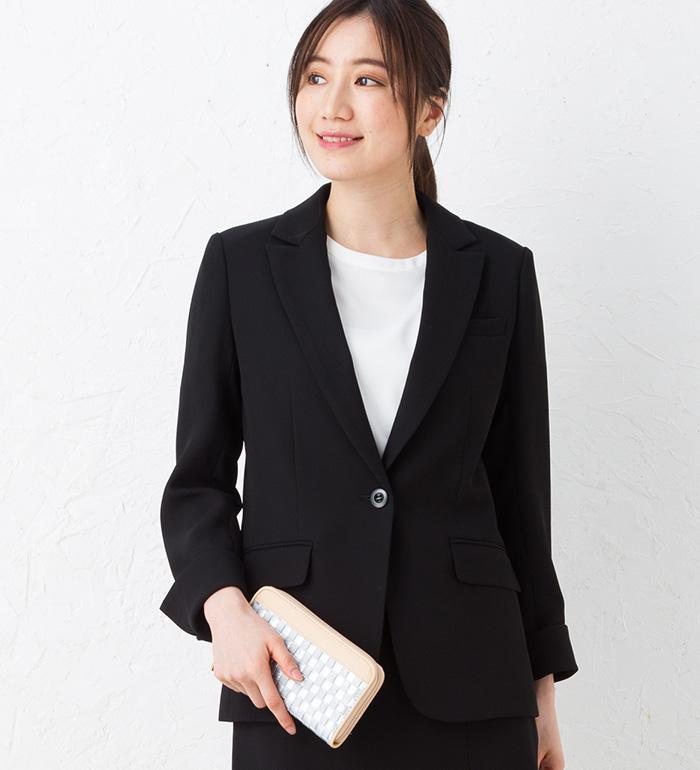 暑さに負けない夏のロングジャケット 事務服 オフィス制服 KARSEE enjoy 2018SS